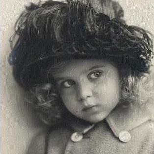 Princess Ingrid as a child