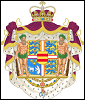 The Coat of Arms of Crown Prince Frederik of Denmark