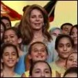 Queen Noor at the event