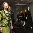 Queen Sofia at the Balenciaga exhibition