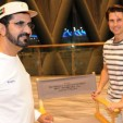 Sheikh Mohammed with Tom Cruise