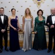 The royal family at the parliament dinner