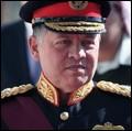 King Abdullah at the opening