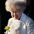 The Queen at Sandringham, December 2010