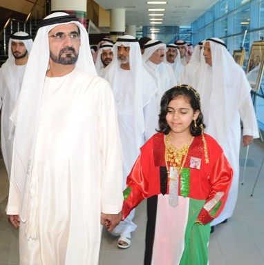 View the image at Sheikh Mohammed's official website