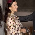This patterned coat of Princess Mary's has been a staple in her wardrobe, both pregnancy and non, since 2004