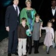Prince Constantijn and Princess Laurentien, with their children