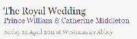Official wedding website William & Catherine