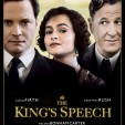 Promotional poster for The King's Speech