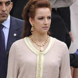 Princess Lalla Salma at the wedding of the Duke and Duchess of Cambridge on April 29, 2011 in London