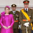 Grand Duke Henri and Grand Duchess Maria Teresa on National Day 2011