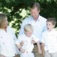 The Grand Duke and Grand Duchess with grandsons - 2011