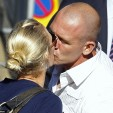 Zara Phillips & Mike Tindall.