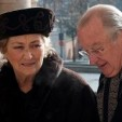 Queen Paola and King Albert  arrive for the mass; 16-02-2012