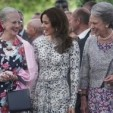 Queen Margrethe, Crown Princess Mary and Princess Benedikte; 19-06-2012