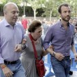 Infanta Margarita arrives for the Bruce Springsteen concert in Madrid; 17-06-2012