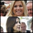 (Top) Princess Maxima; (Bottom) Princess Mary