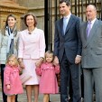 The Spanish Royal Family in April 2010