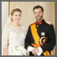 Wedding Hereditary Grand Duke and Grand Duchess of Luxembourg - Official picture 2