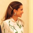 Queen Rania attends a dinner held in her and King Abdullah's honour during a visit to Turkey; 05-03-2013