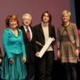 Princess Margriet and Princess Laurentien with some of the 2013 laureates; 19-03-2013