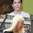 (Top) Princess Mary; (Bottom) Princess Mette-Marit