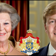 Queen Beatrix and the Prince of Orange