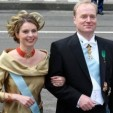 The Duke and Duchess of Parma at the inauguration of King Willem-Alexander of the Netherlands on April 30, 2013
