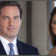 An official image of Princess Madeleine and Christopher O'Neill released in the leadup to their wedding