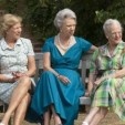 Queen Anne-Marie, Princess Benedikte and Queen Margrethe at Graasten; 26-07-2013