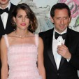 Charlotte Casiraghi and her partner Gad Elmaleh