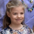 Infanta Sofia of Spain at Easter Mass; 20-04-2014