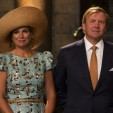 Queen Maxima and King Willem-Alexander during the 200th anniversary celebrations of the Kingdom of the Netherlands; 30-08-2014