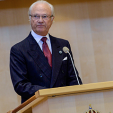 King Carl Gustaf opens the 2014/2015 parliamentary session; 30-09-2014