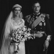The Duke and Duchess of Kent's official wedding portrait