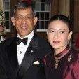 Crown Prince Maha Vajiralongkorn of Thailand and his former wife, Srirasmi Suwadee