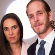Tatiana Santo Domingo and Andrea Casiraghi in London in October