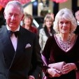 The Prince of Wales and the Duchess of Cornwall arrive for the premiere of 'The Second Best Exotic Marigold Hotel'