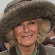 The Duchess of Cornwall attends the second day of the Cheltenham Festival; 11-03-2015