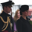The Duke and Duchess of Cambridge in Aldershot for St Patrick's Day; 17-03-2015