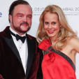 Furst Alexander and Furstin Nadja-Anna at the German Film Ball in January 2015