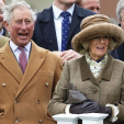 The Prince of Wales and the Duchess of Cornwall at the Prince's Countryside Fund Raceday at Ascot; 29-03-2015