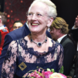 Queen Margrethe at her 75th birthday concert