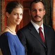 Princess Salwa and Prince Rahim Aga Khan