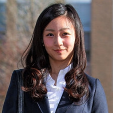 Princess Kako during a photo call at the International Christian University in Tokyo; 02-04-2015