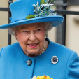 Queen Elizabeth attends Easter service at St George's Chapel, Windsor; 05-04-2015