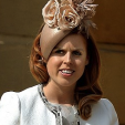 Princess Beatrice at a garden party at Buckingham Palace; 28-05-2015