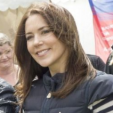 Crown Princess Mary at the Free From Bullying relay in Aarhus; 30-05-2015