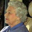 Queen Elizabeth leaves Kensington Palace after visiting the Cambridges; 05-05-2015