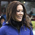 Crown Princess Mary during a visit to AaB football club; 12-05-2015
